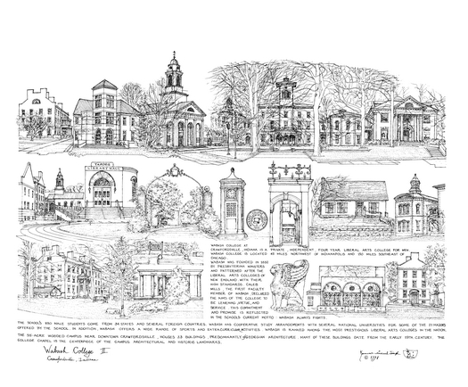 A Pen And Ink Drawing By K.P. Singh