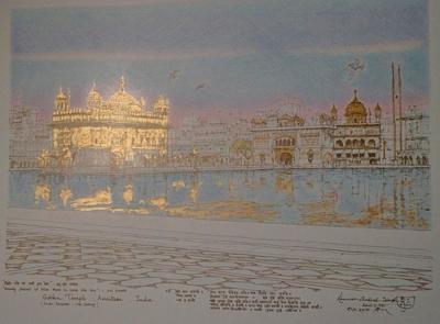 Golden Temple by K.P. Singh